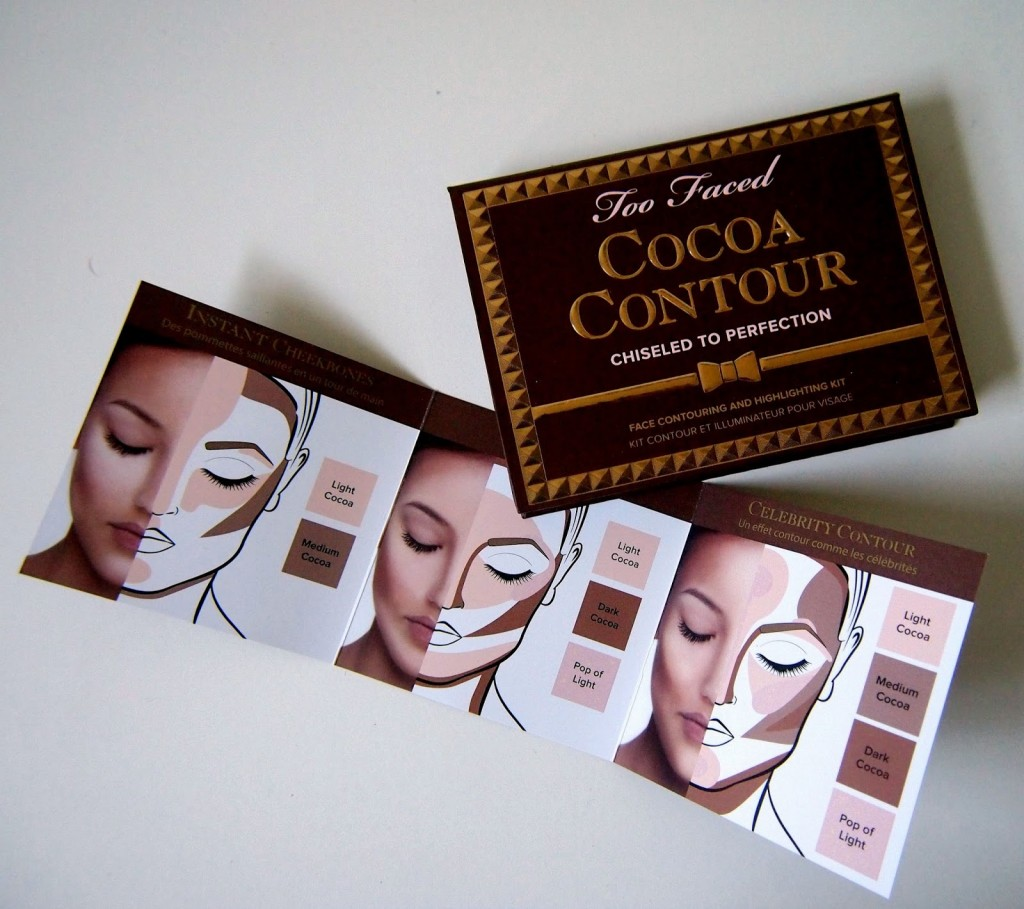 Too Faced Cocoa Contourhighlighting Kit Love By Debs